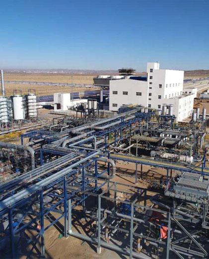 EPC CSSC-China Largest 100 MW Parabolic Trough CSP Project